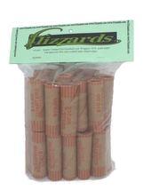 Quarter Crimped End Gunshell Coin Wrappers, 40 Pack - $5.99