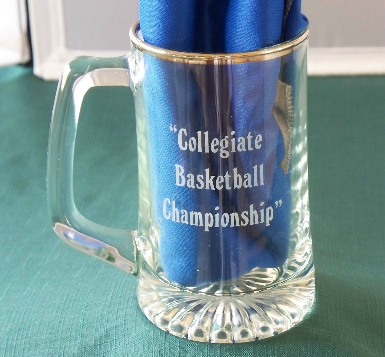 Coors Light NCAA Mens 1990 Final Four Commemorative Stein VGC