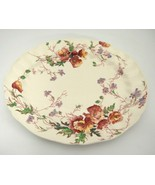 "Vintage Royal Doulton Sherborne 11"" Oval Serving Platter Scalloped Very ... - $24.74"