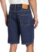 Levi's 550 Men's Classic Premium Cotton Denim Shorts Dark Stonewash image 2