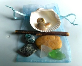 Ocean Magic Gems Spell Sachet - $20.00