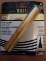 Milani Eye Tech Liquid Eye Liner 01 Black New In Pkg - $5.99