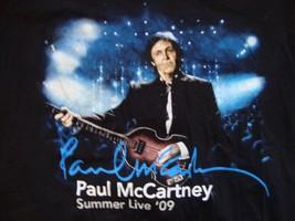 Paul McCarty Summer Live 09 Dallas TX Concert August 19 Black T Shirt Size M - $15.53
