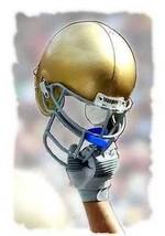 Rare Notre Dame Fighting Irish Helmet Art Print only 50 - $24.74