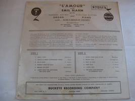 Emil Hahn L'Amour RARE Buckeye L1560 B2 Stereo SEALED Vinyl Record LP Cornball image 2
