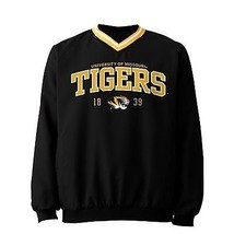 MISSOURI TIGERS NCAA Comfort Mid-Weight Pull-Over Jacket NWT Men's M MED... - $22.00