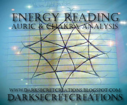 Energy Reading Auric And Chakra Analysis, Psychic Reading Sent Via PDF - $20.00