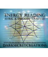 Energy Reading Auric And Chakra Analysis, Psychic Reading Sent Via PDF - $20.00