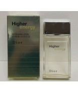 HIGHER ENERGY Men 3.4 Oz Aftershave By Christian Dior BOX NOT PERFECT - $58.90