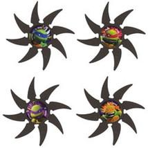 Teenage Mutant Ninja Turtles Foam Throwing Stars 4 pk Favors Party TMNT - $4.48 CAD