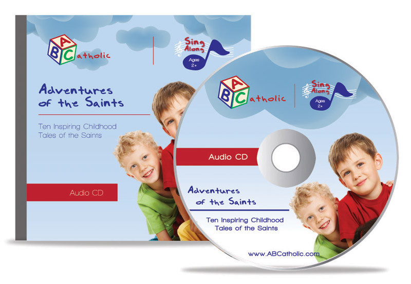 Adventures of the saints  by abcatholic  music cd