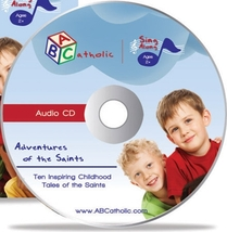 ADVENTURES OF THE SAINTS by ABCatholic - Music CD image 2