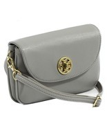 NWT TORY BURCH Robinson Crossbody Clutch Bag, Mercury - £129.98 GBP