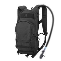 Black Quickstrike Tactical Military Hydration Compatible MOLLE Backpack ... - $56.98