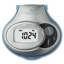 Sportline 345 Calorie Pedometer with Step and Distance - $16.24