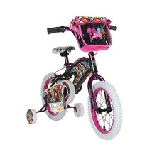 Girls Bike with Training Wheels Bratz 14 Inch Black Bike - $165.91
