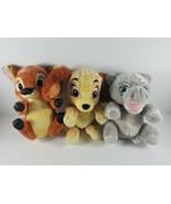 Disney Parks Babies Baby Bambi, Baby Hippo and Baby Lady Disneyland Walt... - $24.99