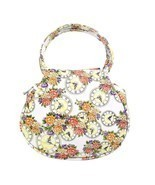 RetroBags Flower Clock leather Shoulder Bag Satchel Handbag Casual Trave... - £10.48 GBP