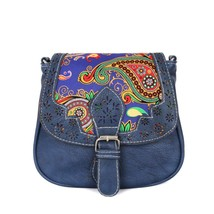 shoulder bags famous sPrinting Leathermessenger bag Lady Shoulder Bag Ha... - $20.91