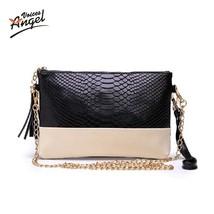 VintageShoulder bags PU Leather Tassel Handbags Zipper Crossbody Bag Lad... - ₨1,367.15 INR