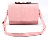 fashion crocodile bow pattern female handbag shoulder bag large tote ladies purse thumb155 crop