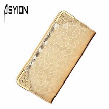 Amazing Pu Leathers Wallet Stone Print ElegantClutches Bags Coin Purse C... - $21.69