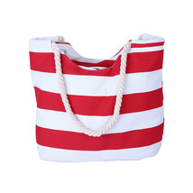 Shoulder Bags Beach Bag Retro Canvasmessenger bag Stripe Tote Shopping P... - $22.13