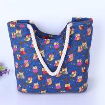 Wl printed handbag canvas bag female casual tote women shopping shoulder bag bolsos sac thumb200