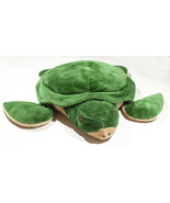 "PIER 1 ONE IMPORTS 23"" LARGE GREEN SEA TURTLE PLUSH STUFFED ANIMAL TOY - $16.82"