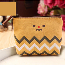 Popular Pastoral StyleCoin Bag Creative Canvas Money Purse Small Mini Po... - $9.82