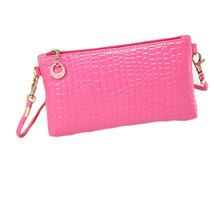 Messenger Bags Leather Crossbody Bag Clutch Shoulder Handbag 3Colors Jus... - $10.21