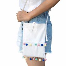 bag famous handbagsTassel Ball Shoulder Bag Student agmessenger bag  #25 - $12.10
