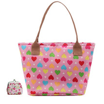 woman shoulder bags s Mummy Bag for Baby Durable Nappy Bags Canvas Lunch... - $13.16