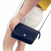 shoulder bagSmallmessenger bag s Leather Handbag Cross Body Shouldermess... - $14.02