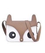 casual embossed handbag handbagstote shoulder bag cartoon fox leathermes... - £10.79 GBP