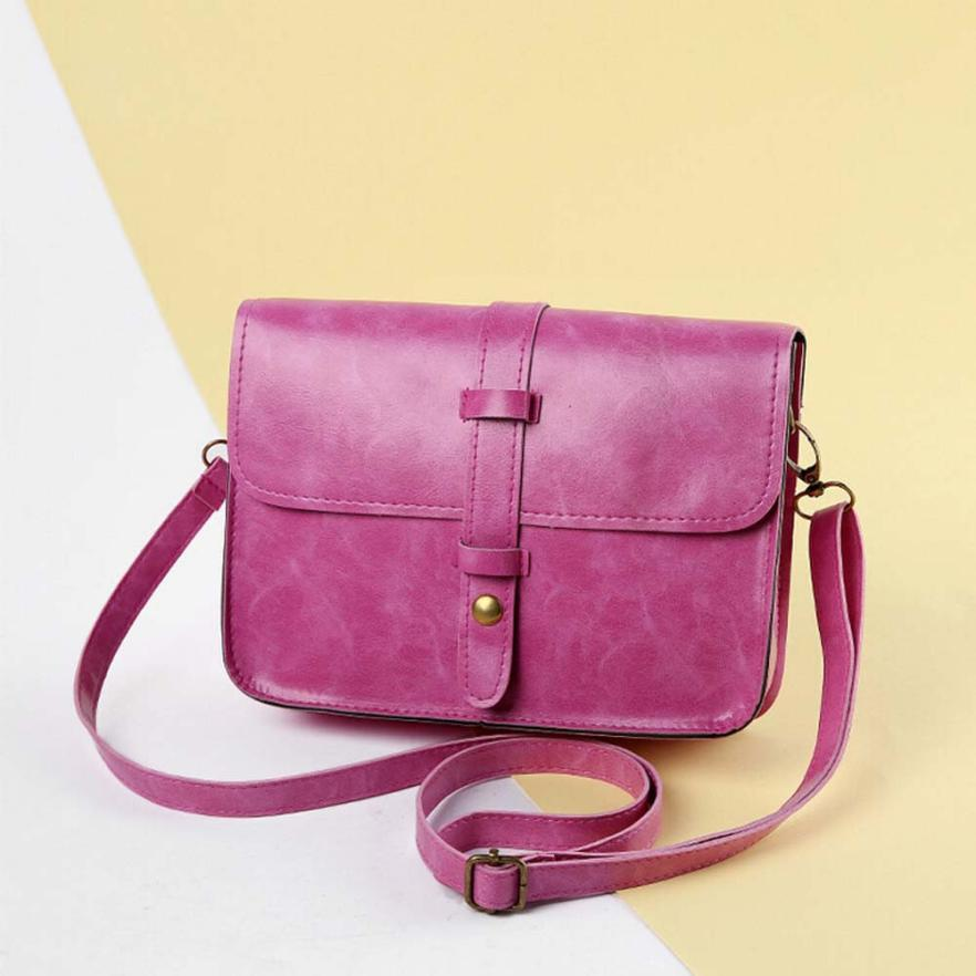 FashiongVintage Bags single shoulder Bag Pu Leather Cross Body Girls bagss
