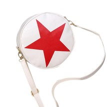 famous bagsleather handbags logoShoulder Bag Satchel Handbag Retromessen... - $17.33