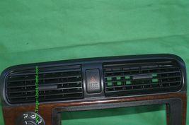 01-05 Acura EL Honda Civic Radio Bezel AC Control Dash Vents WoodGrain Trim image 4