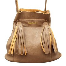 Bags Bucket Tote BagPULeather Handbags Vintage Messenger Shoulder Bags - $17.49