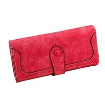 Lady BagsWalletsRetro Wallet Multi-card Position Two Fold Wallet lady Lo... - $17.75