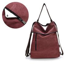 Canvas Unisex Solid Girls Shoulder School Bag S... - $76.28