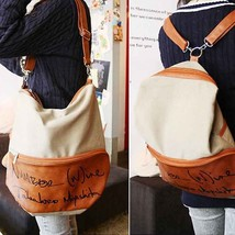 Leather Bags Chain Casual Tote Messenger Shoulder Handbags Large spain B... - $17.90