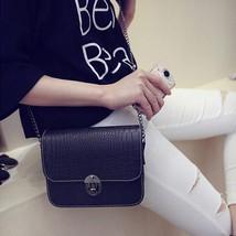 Leather Shoulder bags PU leather Handbag Cross Body Femalemessenger bag ... - $18.61