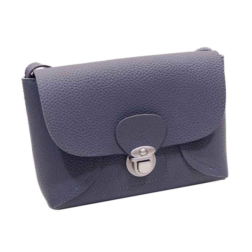 New arrival fashion women shoulder bags pu leather handbag cross body shoulder messenger bag hot
