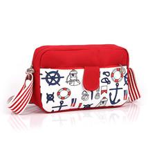 Cartoon Patchwork Shoulder BagCanvasmessenger bag s Mini Diagonal Packet... - $19.68