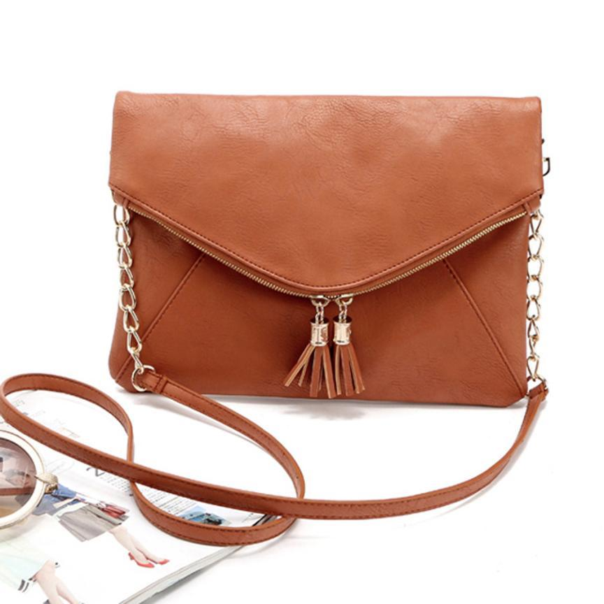 Shion shoulder women bag satchels high quality solid ladies office messenger shoulder bags women
