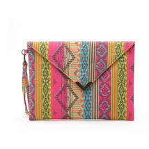 PrintingClutch Bag Geometric Various ColorsEnvelope handbags Bag Vintage... - ₨1,533.58 INR