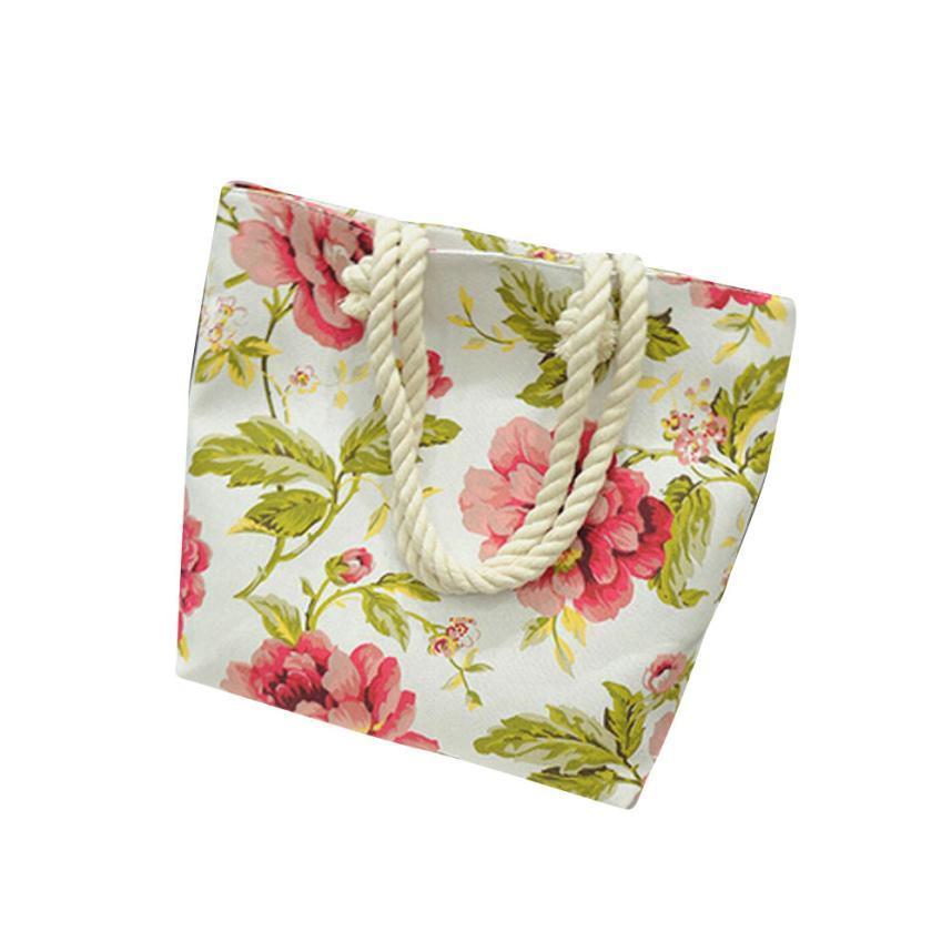 En handbag canvas printing shoulder beach bags casual female tote shopping bag bolsa feminina 25