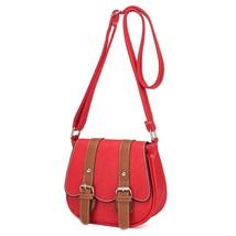 RetroLeather Tote Shoulder bag womans bags s Crossbody Handbag Satchelme... - $24.22