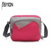 nylon multifunctional shoulder bagmessenger bag s flapcrossbody travel b... - $24.22